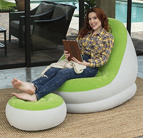 Bestway 75053 - Sillón Hinchable Comfort Cruiser Inflate-A-Chair