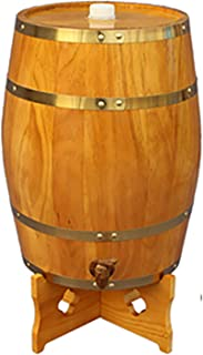 ZGQJT Vertical Chêne Fûts, Vintage Oak vin Barils, appropriés for Bar Décoration ou for Le Stockage de la bière, vin Roug...
