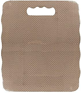 Pack of 2, Brown Jumbo Gardening Kneel Pad Great To Protect Your Knees While Working on The Garden
