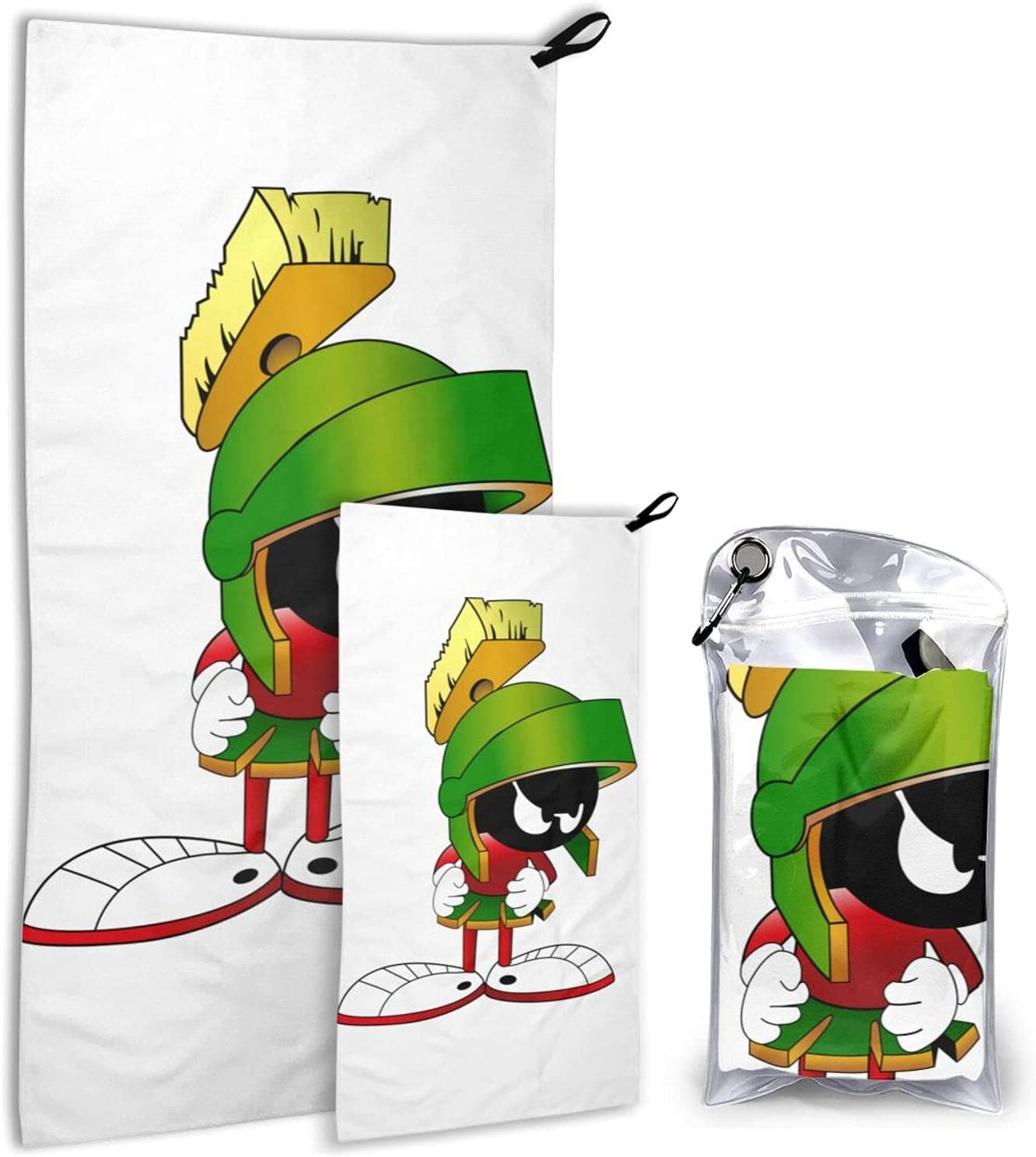 Marvin The Martian Animation OFFicial Camping Towel-Super NEW before selling Soft Travel Co