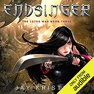 Endsinger audiobook cover art