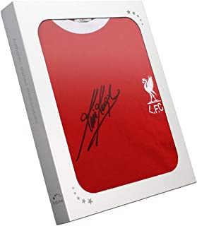 Kevin Keegan Signed Liverpool Jersey In Gift Box