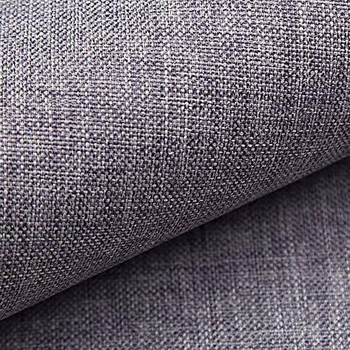 NOVELY® LUSO fein gewebter Polsterstoff Bezugsstoff Meterware Möbelstoff Mélange: Farbe: 05 Grau