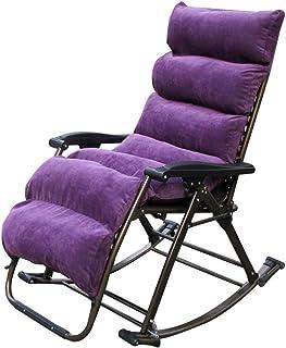 Byx- Chaise à Bascule inclinable pour Adultes, Chaise à Bascule Perezosa, Chaise pour Personnes âgées, Chaise en Osier pou...