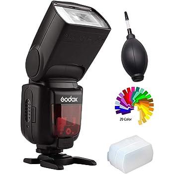 【技適マーク&日本語説明書】Godox TT600 スピードライトフラッシュストロボ 2.4Gワイヤレス伝送 Canon, Nikon, Pentax, Olympusなど標準ホットシュー付きデジタルカメラ対応