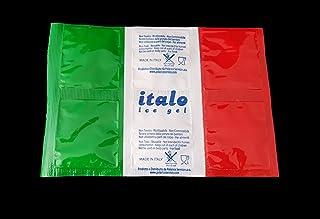 Ghiaccio sintetico in confezione da 25 fogli da 6 cellette ITALO inattivate Dim. cm. 20x14 (1 FOGLIO ATTIVATO PESA 220 GR....
