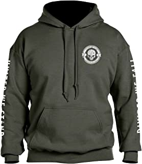Divided We Fall Military Sniper Skull Hoodie