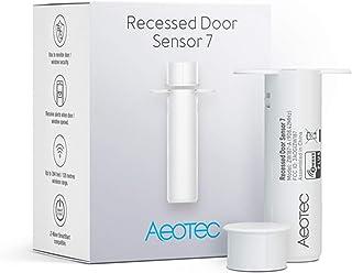 Aeotec Recessed Door Sensor 7, Z-Wave Plus, Invisible Security Door Sensor, Smart, Battery Powered, SmartStart & S2, Z-Wav...