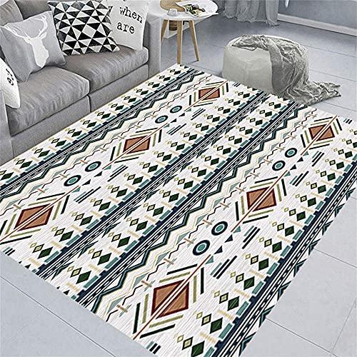 Sofa Teppiche Teppich Oudoor Das warme Muster besteht aus einfachen Linien und Farben, die für Wohnzimmer und Schlafzimmer geeignet sind Tatami Teppich 80x160cm