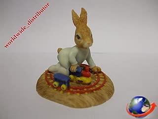 Royal Doulton Bunnykins HARRY A LITTLE BUNNY AT PLAY DBR 1 Handpainted Polyresin Matt Finish Figurine