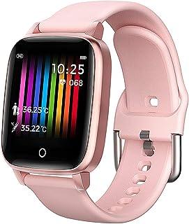 Tlyd Monitoreo Inteligente Pulsera para Los Ancianos Y Los Niños con Relojes Los Deportes con La Salud Monitorización Función del Ritmo Cardíaco + + + Sleep Llamada Bluetooth Temperatura