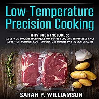 Low-Temperature Precision Cooking audiobook cover art