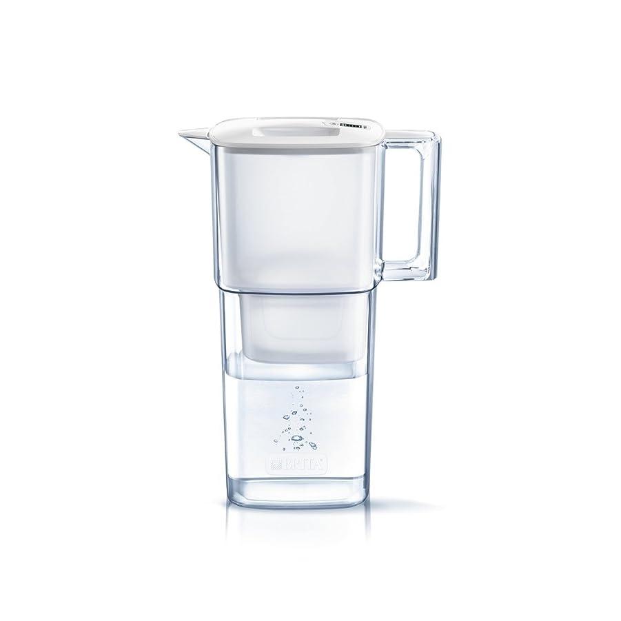 豪華な姓検出するブリタ 浄水器 ポット 浄水部容量:1.1L(全容量:2.2L)  リクエリ マクストラプラス カートリッジ 1個付き 【日本仕様?日本正規品】