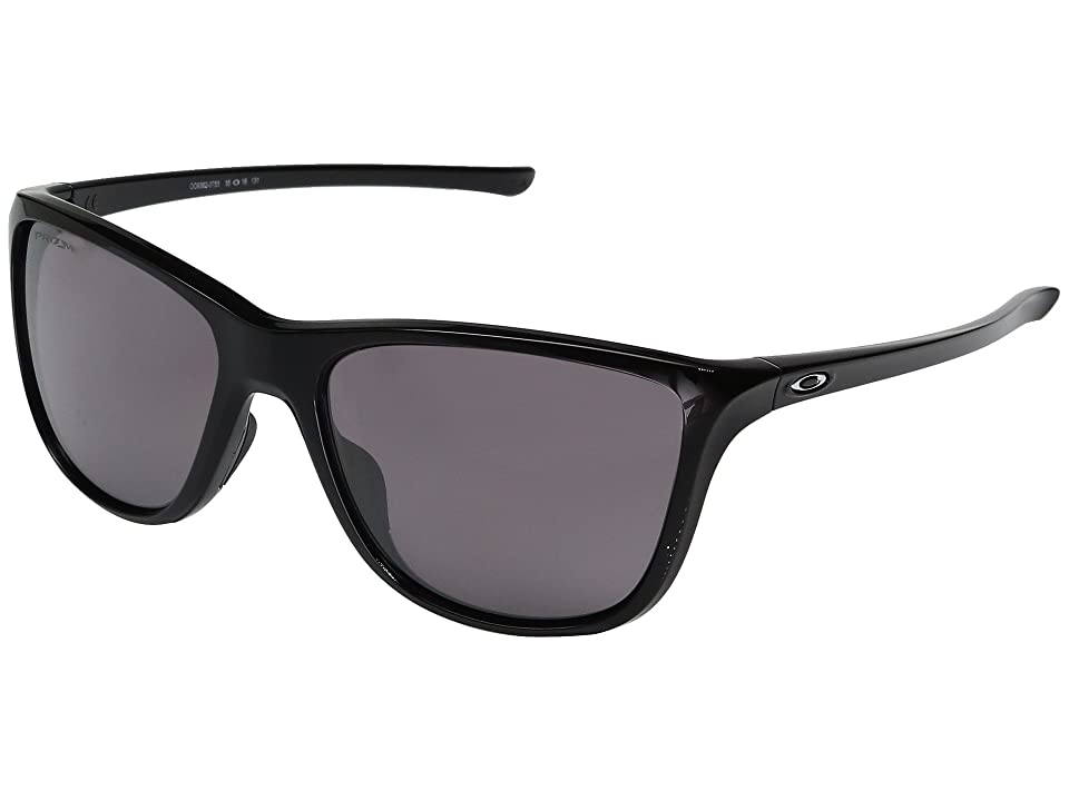 Oakley Reverie (Polished Black w/ Prizm Daily Polarized) Fashion Sunglasses