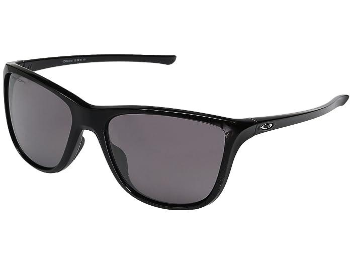 Oakley Reverie (Polished Black w/ Prizm Daily Polarized) Fashion Sunglasses