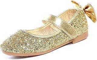 Wedding Party Flower Girl's Bowknot Ballet Ballerina Flat Shoes