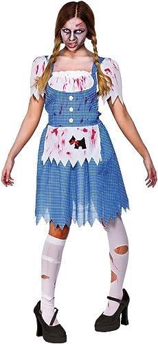 Damen Zombie Country mädchen Kostüm für Halloween Lebende Tote Kostüm