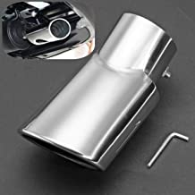 For SUBARU OUTBACK 2015 2016 2017 2018 Car Rear Exhaust Muffler Pipe Stainless End Tip Pipe