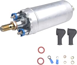LQQDP New 1pcs High Performance Electric External In-Line EFI Fuel Pump With Internal Filter/Strainer & Installation Kit Replacement Fit Mercedes-Benz E/C/CL/S/SL Class Outside Tank 0580254950