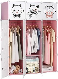 Wardrobe Rollsnownow Plaque de placard simple et moderne en imitation bois avec porte coulissante pour chambre à coucher