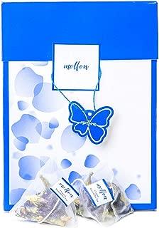 【バタフライピー専門ブランド】molfon バタフライピー ティーバッグ Butterfly Pea 青いお茶 アンチャン 蝶豆