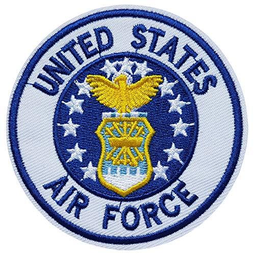 Écusson United States Air Force Armée de L'Air Américaine Patch Militaire Guerre Army US USA Amérique Thermocollant 7,7cm Cameleon-Shop