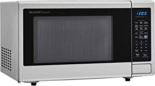 Sharp Carousel 1.4 Cu. Ft. 1000W Countertop Microwave Oven with Orville Redenbachers Popcorn Preset (ISTA 6 Packaging) (Re...