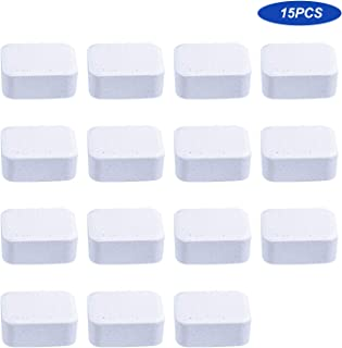 15PCS Toilet Bowl Cleaner Bathroom Cleaning Effervescent Tablets Toilet Cleaner Deep Cleaning Remove Odor Decontamination ...