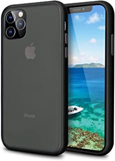 iPhone 11 Pro Case (5.8 inch 2019),Scrub Ultra Thin Fit Slim Shockproof Built-in Car Invisible Magnet Function for iPhone 11 Pro 5.8 Inch (Black)