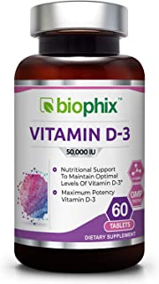 Sponsored Ad - Vitamin D3 50000 IU 60 Tabs - High-Potency | Strong Bones | Immune Health | Support for K-2