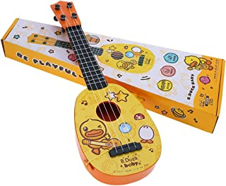 17 Inches Ukulele Guitar Toy With Pick For Kids Musical Instrument Toy Educational Learn Gift