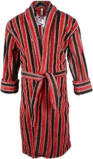 Mens Plush Bath Robe' Mens Ely 100% Egyptian Cotton Plush Shawl Collar Luxury Robe for Men