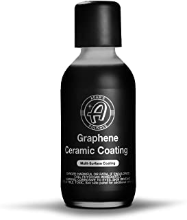 Adam's UV Graphene Ceramic Coating - 10H Ceramic Coating for Cars W/UV Glow Technology   7+ Years of Protection   Apply Af...