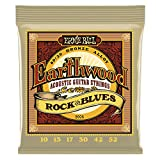 Ernie Ball Earthwood Rock y Blues w/Plain G 80/20 Cuerdas de guitarra acústica de bronce - 10-52 Gauge