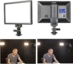 SUPON LED-L122T RA CRI95 Super Slim LCD Display Lighting Panel,PortableDimmable3300K-5600K LED Video Light Compatible for Canon,Nikon,Pentax,Fuji,Sony,Olympus DSLR Cameras,DV Camcorder