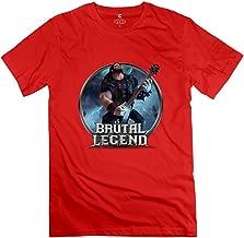 Men's Brutal Legend Game Short Sleeve Tshirt Size XXL Red