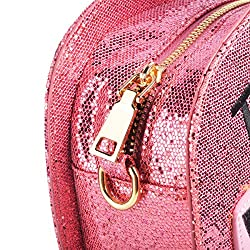Sparkling Bag for Women, Ustyle Tequila Bottle Shaped Clutch Purse Elegant Handbag (pink)