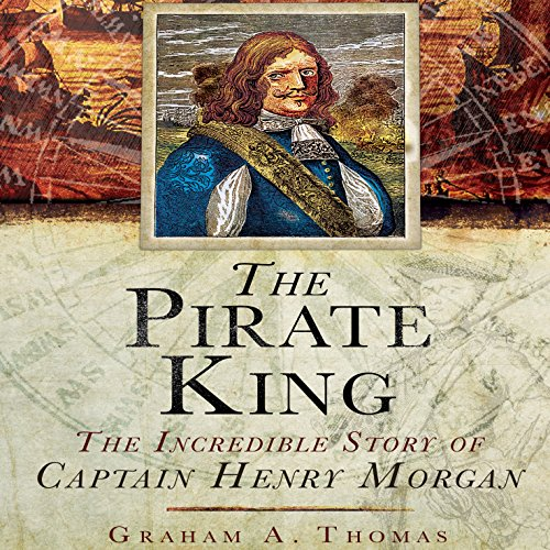 The Pirate King audiobook cover art