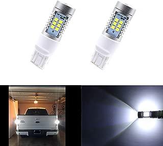 Dantoo 2 pcs 7443 7444 7441 7440 LED Bulb Extremely Bright Reverse Light Bulbs 6000K Xenon 21 SMD White Backup Reverse LED Light Lamp