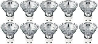 Pack of 10 Bulbs 35 Watt GU10 Halogen Bulb 120 Volt GU10 Halogen Light Bulb