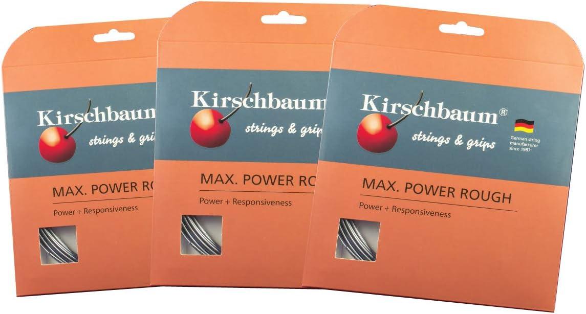 store Cheap SALE Start Kirschbaum MAX Power Rough Grey Tennis String Set