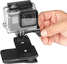 Topmener Backpack Strap Mount for Gopro Shoulder Strap Mount Compatible with GoPro Hero 7, 6, 5, 4, Session, 3+, 3, 2, 1, Fusion, Hero (2018), Xiaomi Yi, Sjcam Cameras 360 Rotation