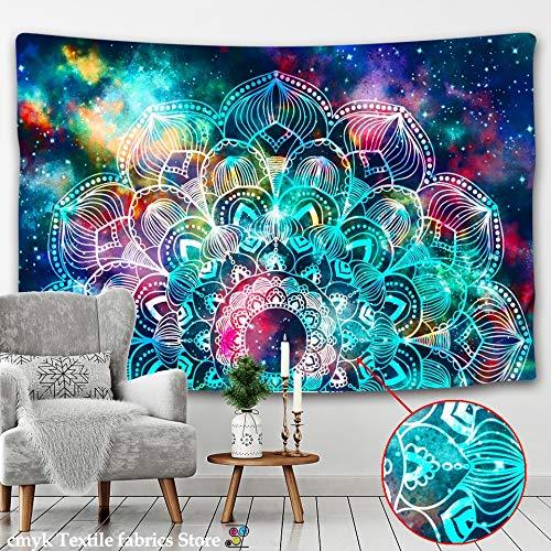Tapiz para dormitorio Tapiz pared colgante color astrología adivinación hippie decoración colcha