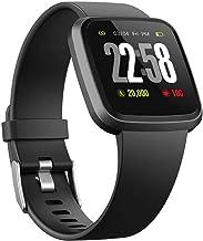 TIANYOU Smart Horloge Fitness Tracker Ip67 Waterdichte Mannen Vrouwen Kleur Volledige Touchscreen Fitness Horloge Bluetoot...