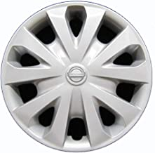 OEM Genuine Nissan Wheel Cover - Professionally Refinished Like New - 15in Replacement Hubcap Fits 2012-2018 Versa