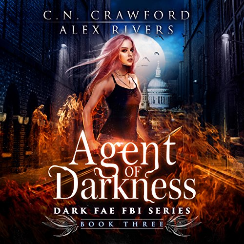 Agent of Darkness audiobook cover art
