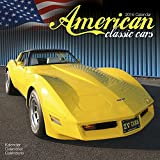 American Classic Cars Calendar- 2016 Wall calendars - Car Calendar - Automobile Calendar - Monthly Wall Calendar by Avonside