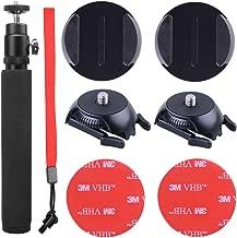 HOLACA 360 Cam Selfie Set for Samsung Gear 360 VR Camera&Gear 360 (2017 Edition), Including 1/4 Screw Buckle Mount, Monopod for Samsung Gear 360 Cam & Ricoh Theta S SC M15 Theta V Camera