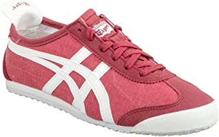 Onitsuka Tiger by Asics Unisex Mexico 66 Classic Red/White 8 Women / 6.5 Men M US