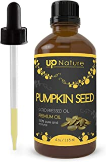 UpNature The Best Pumpkin Seed Oil 4 OZ - Pure Unrefined GMO Free Premium Quality - Cold Pressed - Great For Hair Growth